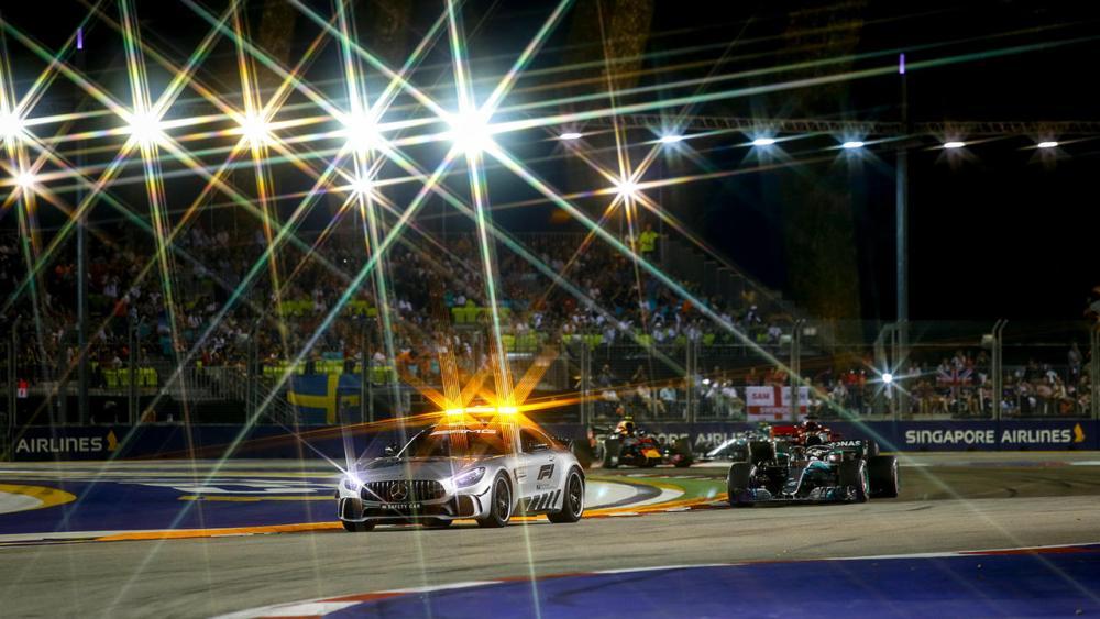 Pirelli - GP Singapore F1 2019 - Safety Car