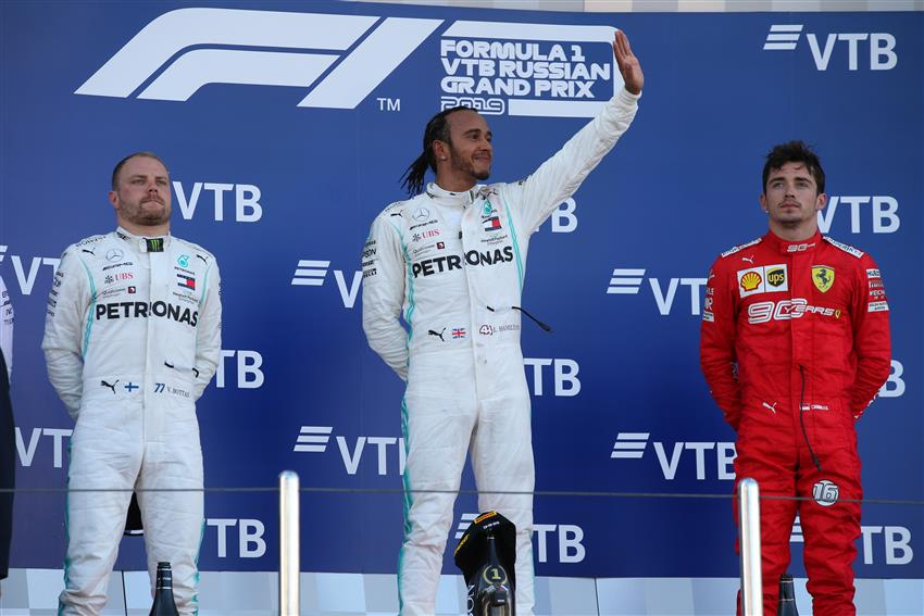 f1 classifica piloti costruttori gp russia 2019