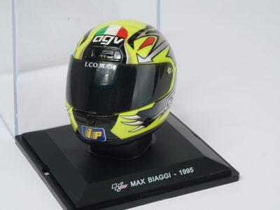 modellino casco max biaggi