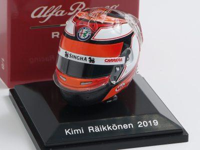 collezione caschi f1 raikkonen