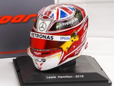 casco hamilton collezione caschi f1 2019