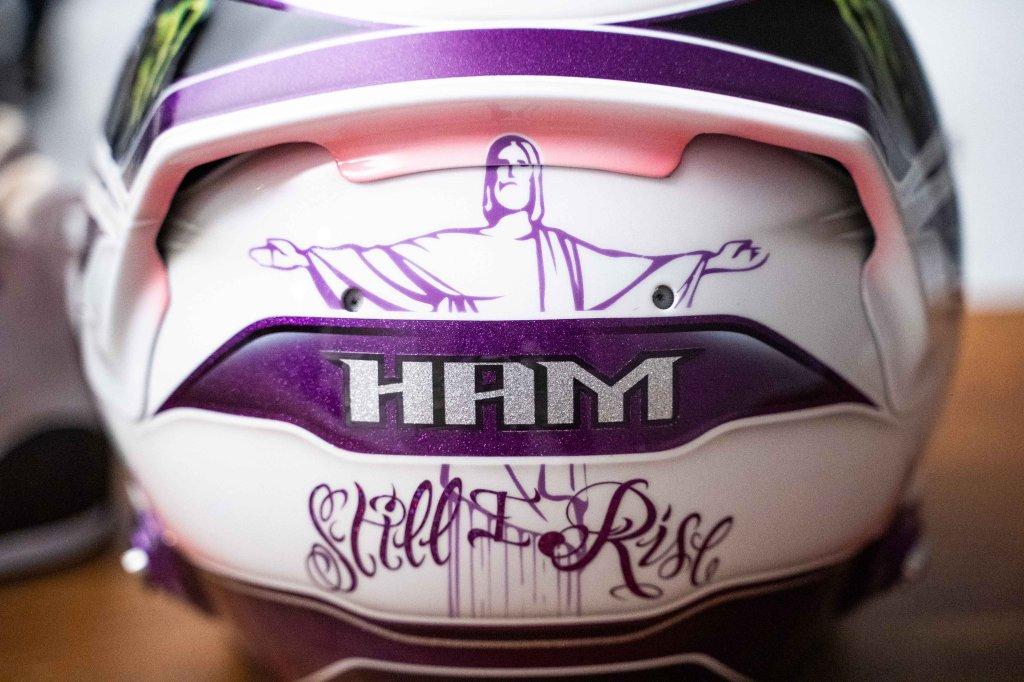casco hamilton still i rise viola