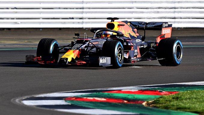 Red Bull RB16 verstappen silverstone