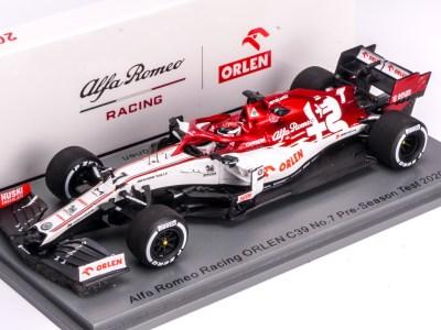 modellino f1 raikkonen alfa romeo c39 spark 1:43