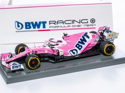 modellino f1 racing point 2020 lance stroll spark