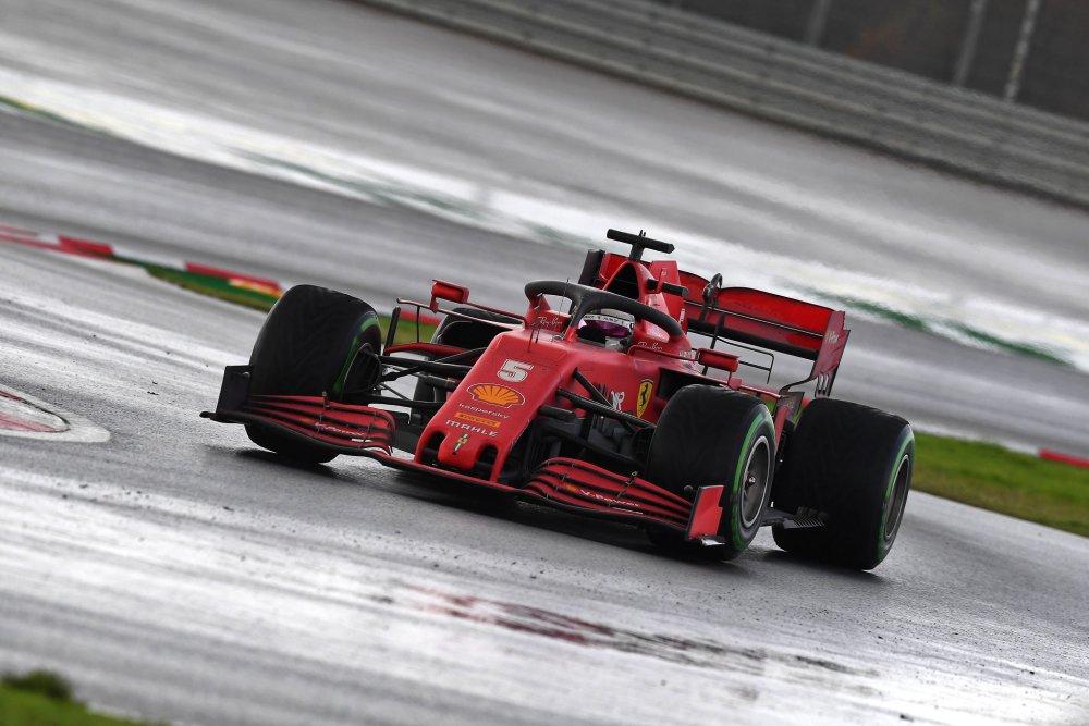 F1 Ferrari, team radio Vettel Turchia 2020