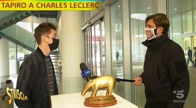 """Ferrari, tapiro d'oro a Leclerc- Non andrei in vacanza con Hamilton"""""""