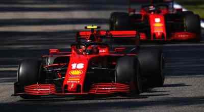 Imola, interviste Leclerc e Vettel nel post-gara