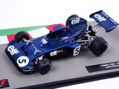 modellino f1 tyrrell jackie stewart 1973 scala 1:43 altaya