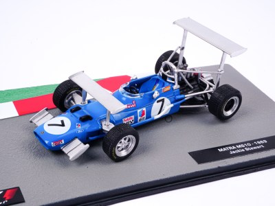 modellino f1 matra simca jackie stewart 1969 scala 1:43 altaya