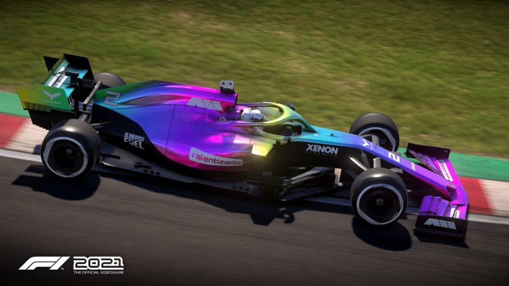 f1 2021 campionato auto personalizzabili ps4