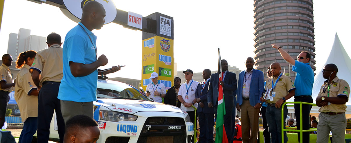 Stage 1 Results: 65th Safari Rally Progressive Overall After CS 1 (2 Km)