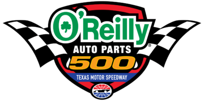 O'Reilly Auto Parts 500 at Texas Motor Speedway logo
