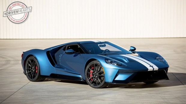 Barrett-Jackson he first current model Ford GT to be donated and auctioned for charity