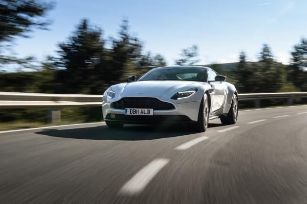 Aston Martin V8 powered DB11