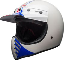 bell moto 3 culture helmet ace cafe gp66 gloss white red