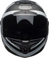 bell helmets race star flex street helmet ace cafe blackjack matte gloss black white