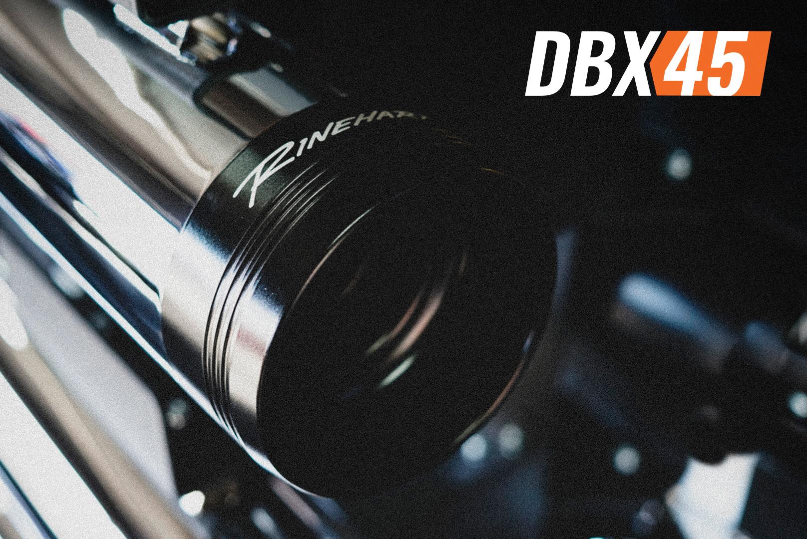 harley davidson new dbx45 slip on exhaust