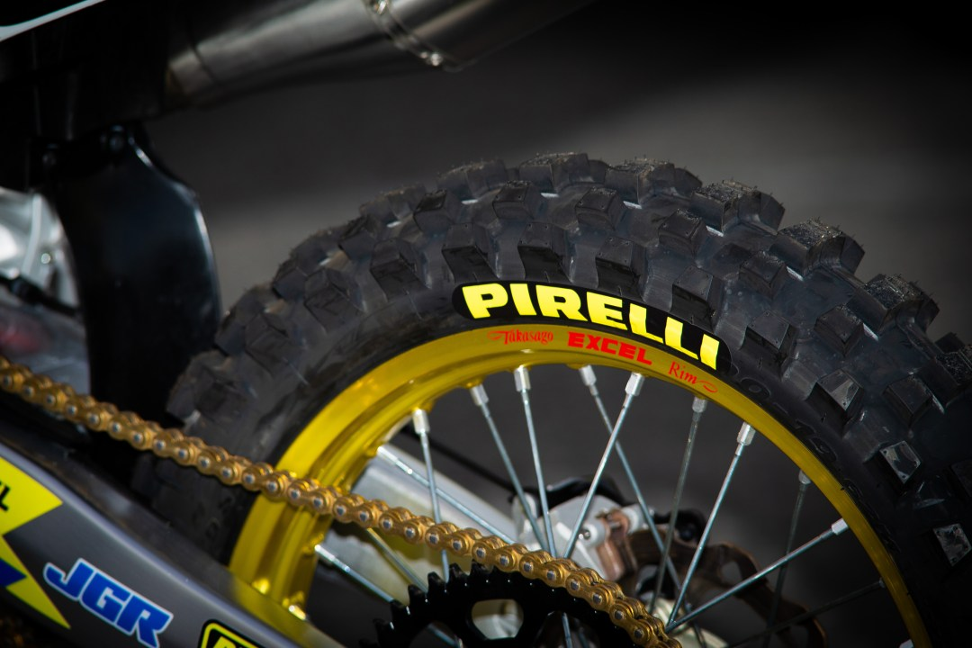 All riders may purchase the same SCORPION™ MX tires found on the bikes of Pirelli's factory racing teams. | Photo - Browndogwilson