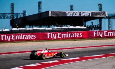 COTA become an event for all ages as Taylor Swift played her only concert of the year after Qualifying