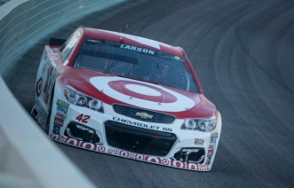 Sprint Cup Series driver Kyle Larson (42) during the Ford Ecoboost 400 at Homestead-Miami Speedway, Sunday, Nov. 20, 2016, in Homestead, FL.