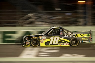 Noah Grayson (18) during the Ford Ecoboost 200 at Homestead-Miami Speedway.