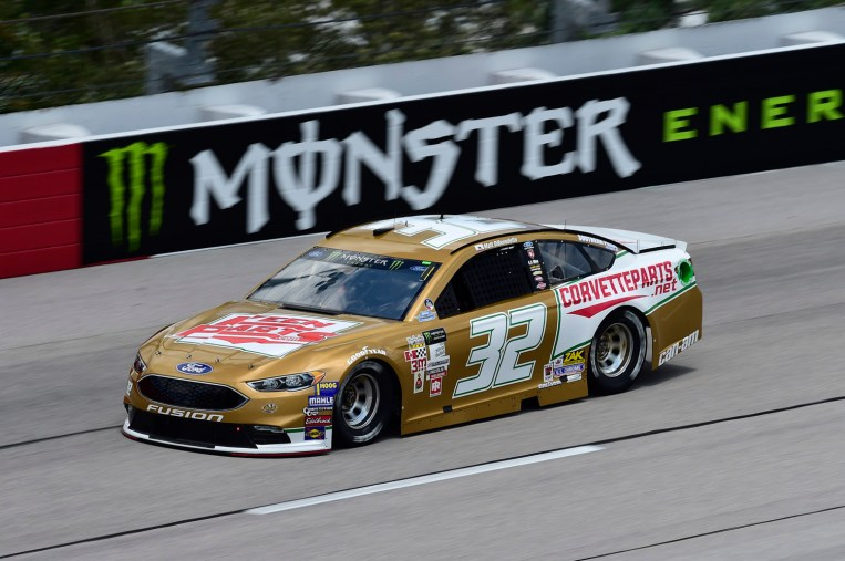 Monster Energy NASCAR CUp Series Bojangles' Southern 500 Darlington Raceway, Darlington, SC USA Friday 1 September 2017 Matt DiBenedetto, GO FAS Racing, Keen PartsCorvetteparts.net Ford Fusion World Copyright: John K Harrelson / Harrelson Photography Inc.