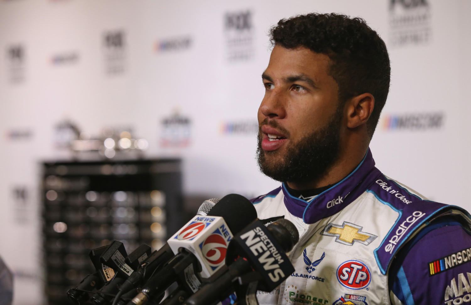 Image result for darrell wallace jr DAYTONA 500
