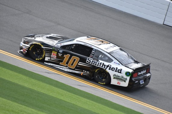 Aric Almirola during Daytona 500 practice.