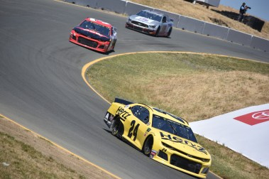 "William Byron heading into ""The Carousel,"" as it made its return at Sonoma Raceway."