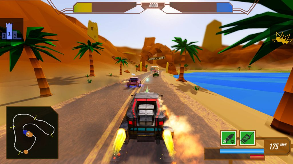 Screenshoot of Motor Strike