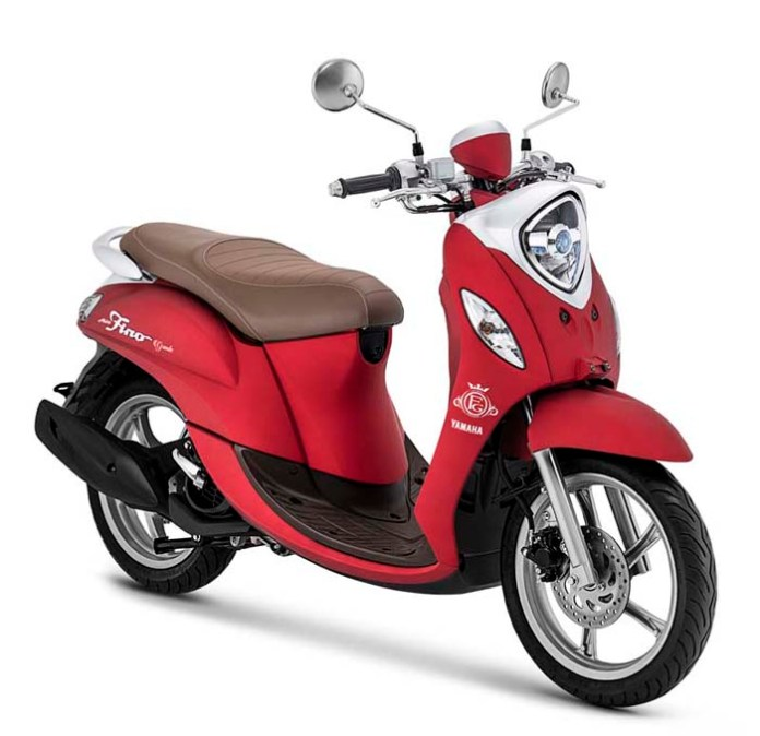 Yamaha Fino Grande 2020 Luxury Red