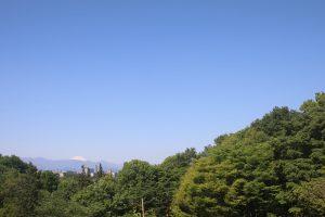 多摩丘陵と富士