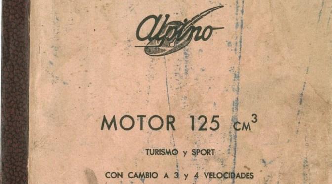 Despiece Alpino 125 2T
