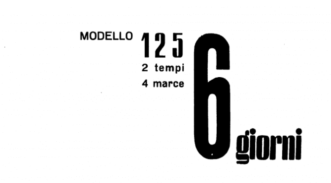 Despiece Mi-val 125 2T – Modelo 6 Giorni