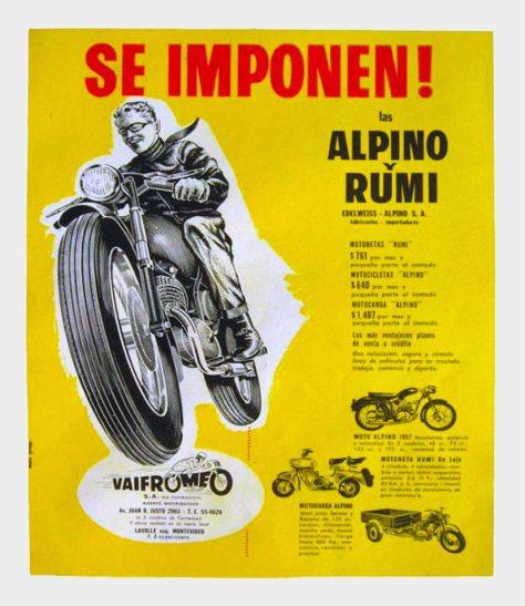Publicidad moto Alpino