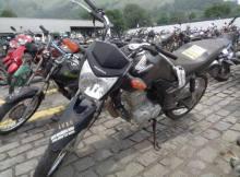 Leilão de motos tem Honda CG 125 2014 com valor inicial de R$1 mil