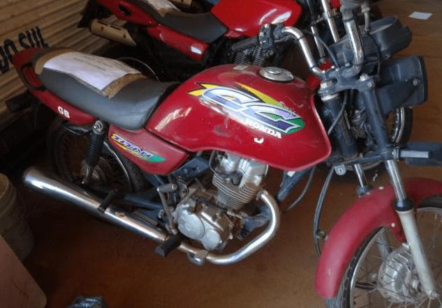 Leilão de motos tem Honda CG 125 com lance inicial de R$200,00