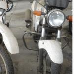 10 motos em leilão incluindo uma HONDA CBX 250 TWISTER
