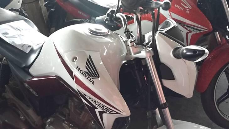 Leilão de motos no Banco do Brasil