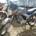 Leilão de motos tem Honda CG 150 TITAN com lance inicial de R$800