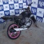 Leilão do Detran tem Honda CG 150 FAN ESI 2011 preta