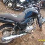 Leilão da Polícia Rodoviária Federal tem Honda CG Fan 125cc a R$200 reais