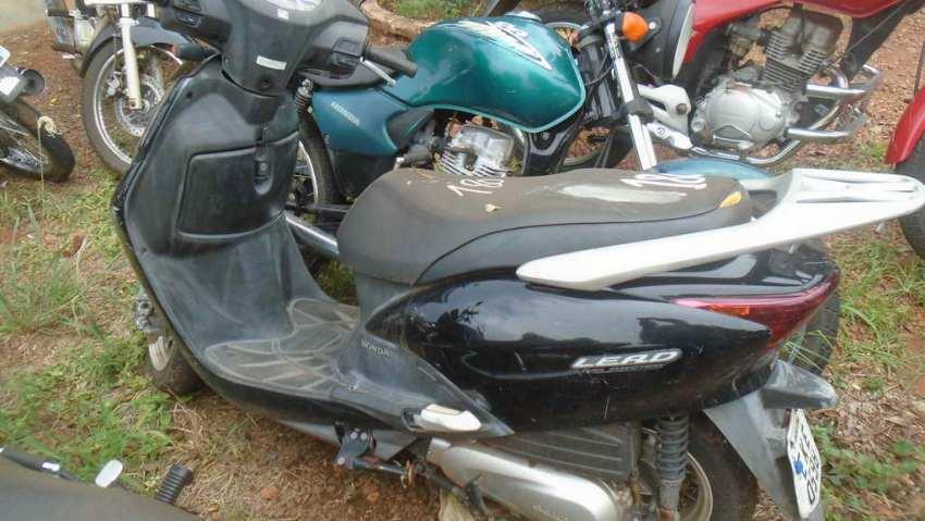 Leilão do DETRAN tem Honda LEAD 110cc a R$ 100 reais