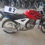 Leilão de DETRAN tem Honda CB 250F com lance inicial de R$ 900
