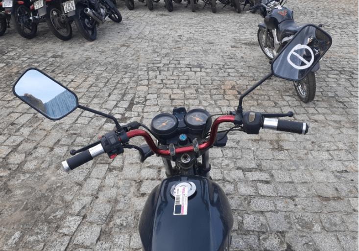 Yamaha YBR 125K com lance inicial de R$300