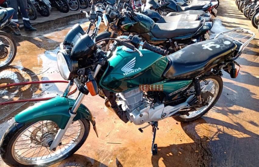 Leilão do Detran tem Honda CG 150 Titan ESD com lance inicial de R$870