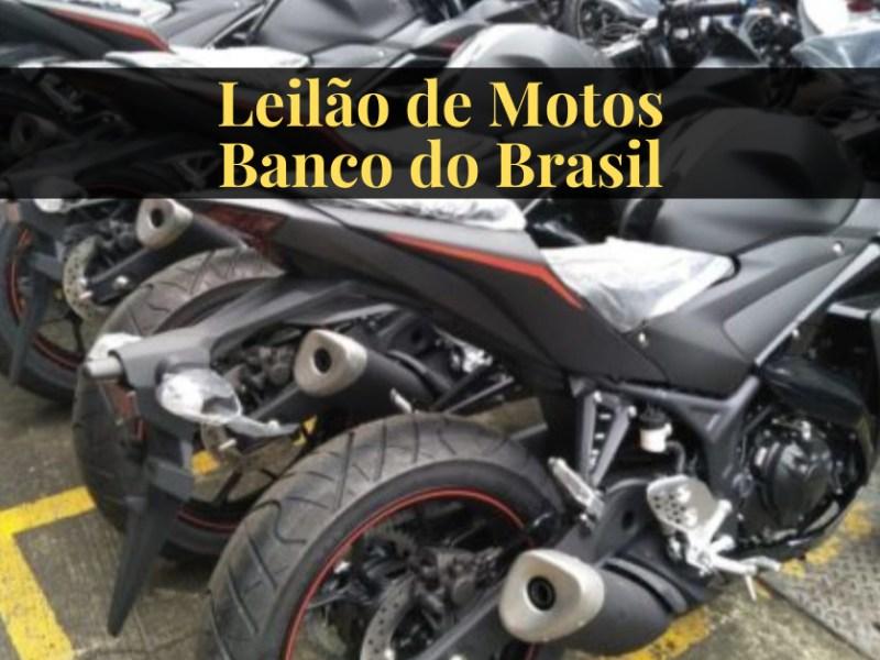 leilão de motos banco do brasil