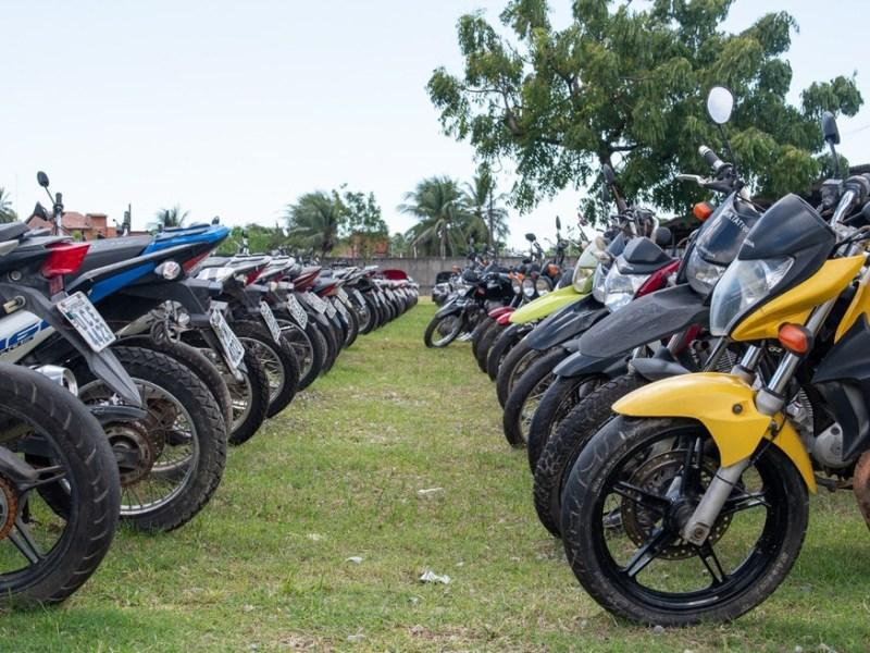 leilão detran motos