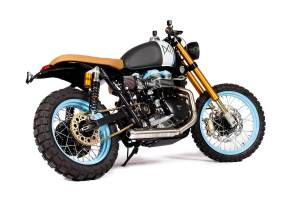 Triumph Bonneville by Riding Maria Company